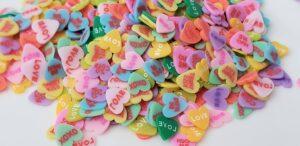 Mixed Hearts Clay Bits