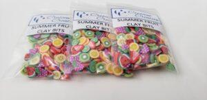 Summer Fruit Clay Bits Mix