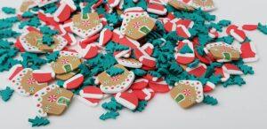 Christmas Theme Clay Bits