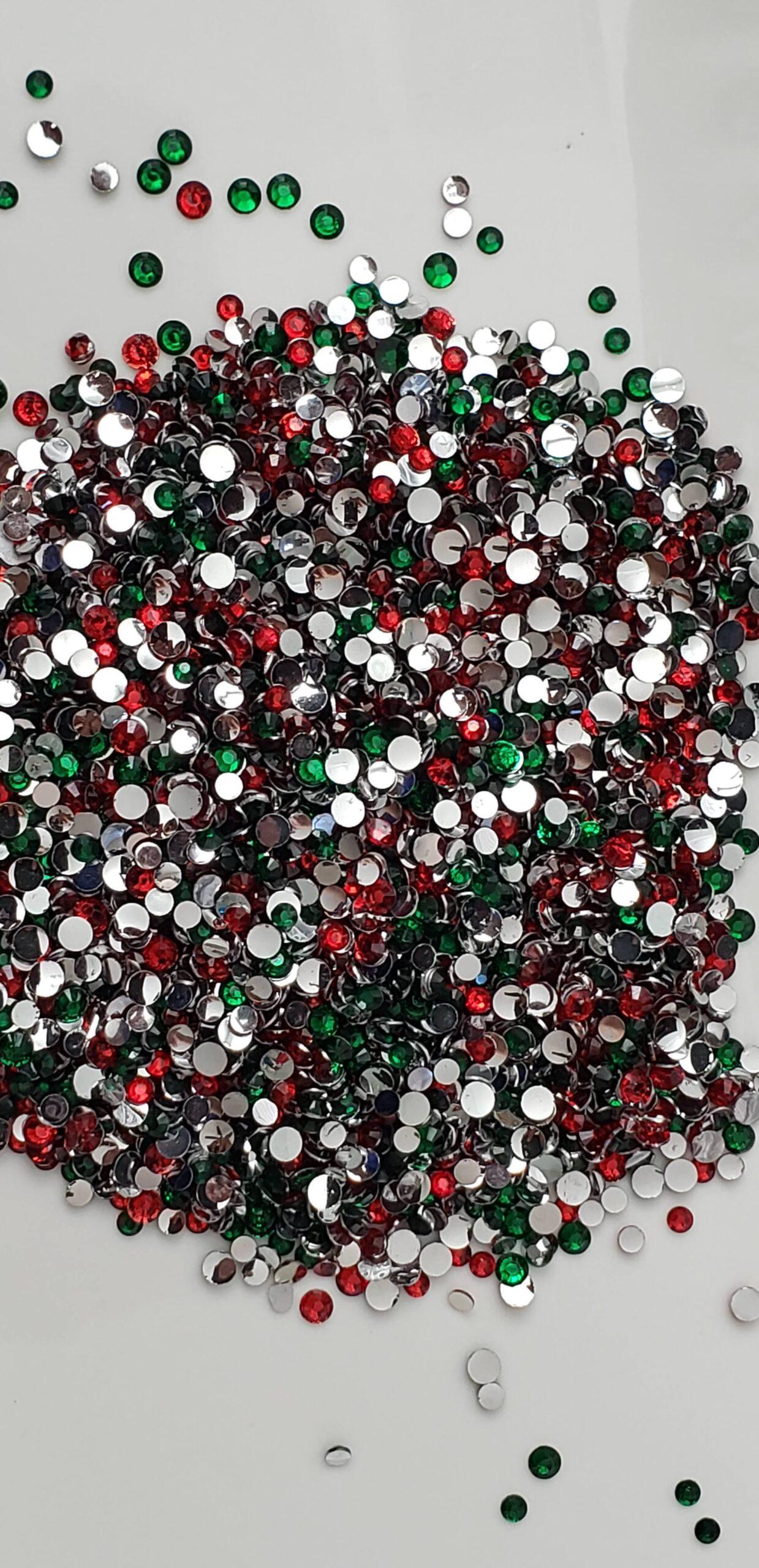 Classic Christmas Jewel Mix