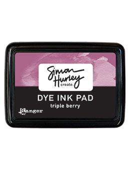 Simon Hurley Create Dye Ink Pad Triple Berry