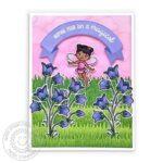 GardenFairyBluebellsCard