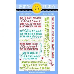 Inside Greetings Christmas Stamp