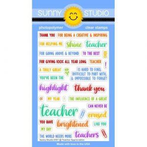 Teacher Appreciation Stamp