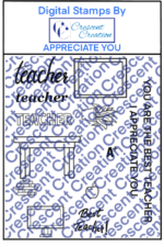 Appreciate You Digital Stamp
