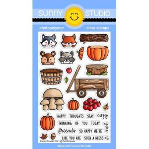 Fall Friends Stamps