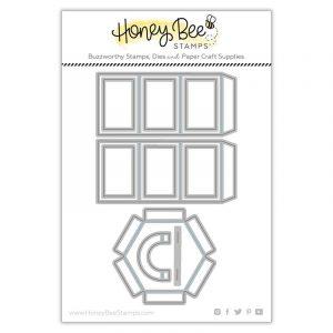 Hexagon Box Cover Honey Cuts