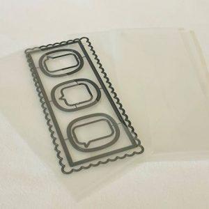 Slimline Storage Envelope Clear