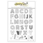Sugar Cookie Alphabet Clear Stamp