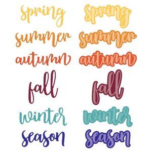 Bitty Buzzwords :Seasons Honey Cuts
