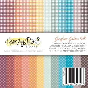 Gingham Galore Paper Pad 6X6 | 24 Double Sided Sheets