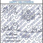 Happy Halloween Digital Stamp