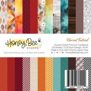 Harvest Festival Paper Pad 6X6| 24 Double Sided Sheets